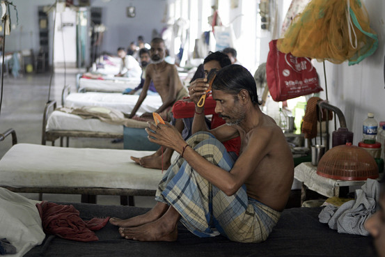 Tuberculosis patients in India