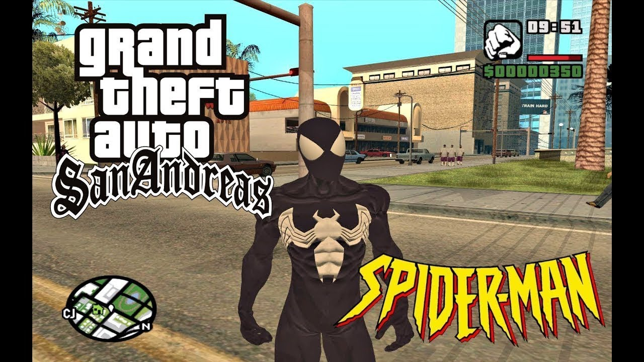 By Photo Congress || Gta San Andreas Spiderman Mod For Pc