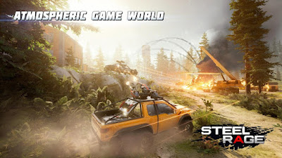 Steel Rage: Robot Cars PvP Shooter Warfare Apk for Android