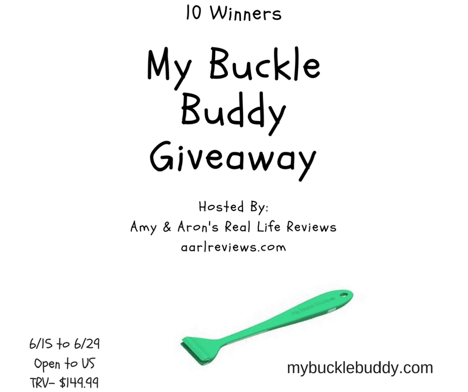 My Buckle Buddy Giveaway