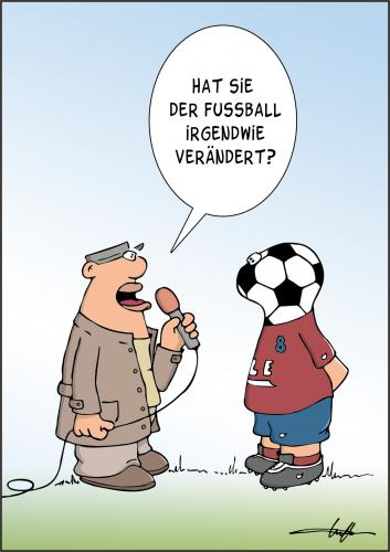 Rumgekritzelt Fussball Und Leben