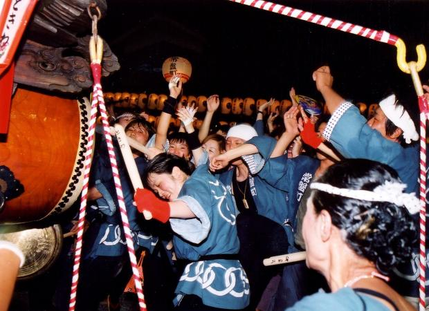 Kanbe Ishidori Matsuri (float parade), Suzuka City, Mie Pref.