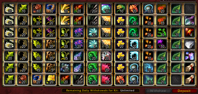 Wow how to buy more guild bank slots near me