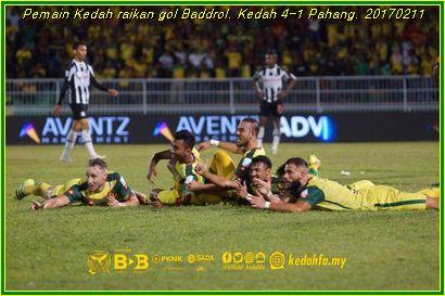 Kedah 4-1 Pahang