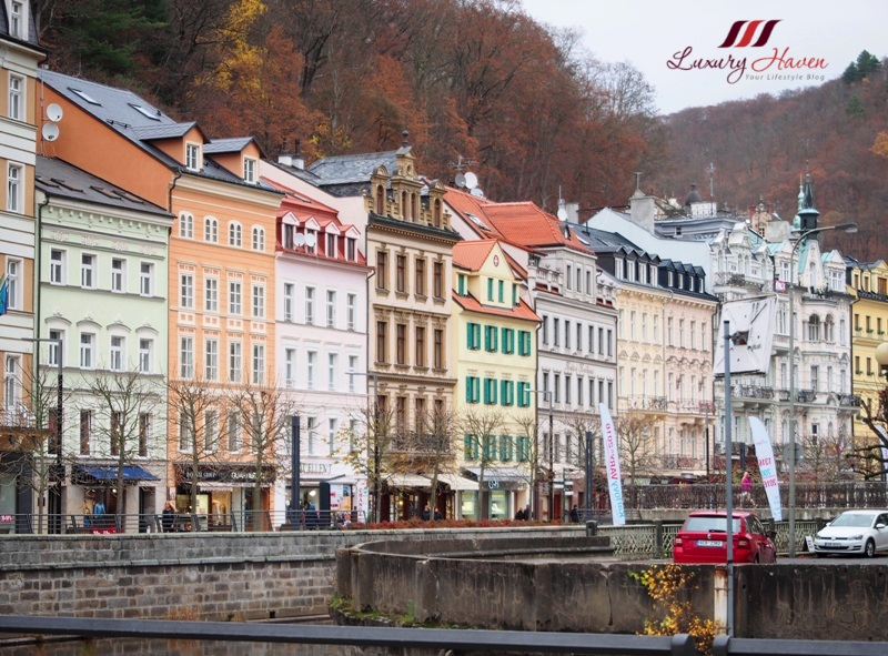 eastern europe karlovy vary historic center
