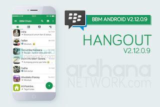 BBM Mod Hangout Apk 2.12.0.9 Free Download
