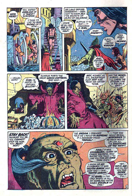 Conan the Barbarian v1 #15 marvel comic book page art by Barry Windsor Smith