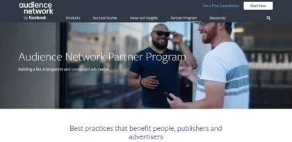 Facebook audence Network