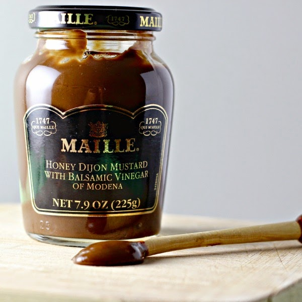 Maille Mustard used in Easy Skillet Chicken with Mustard Beer Sauce