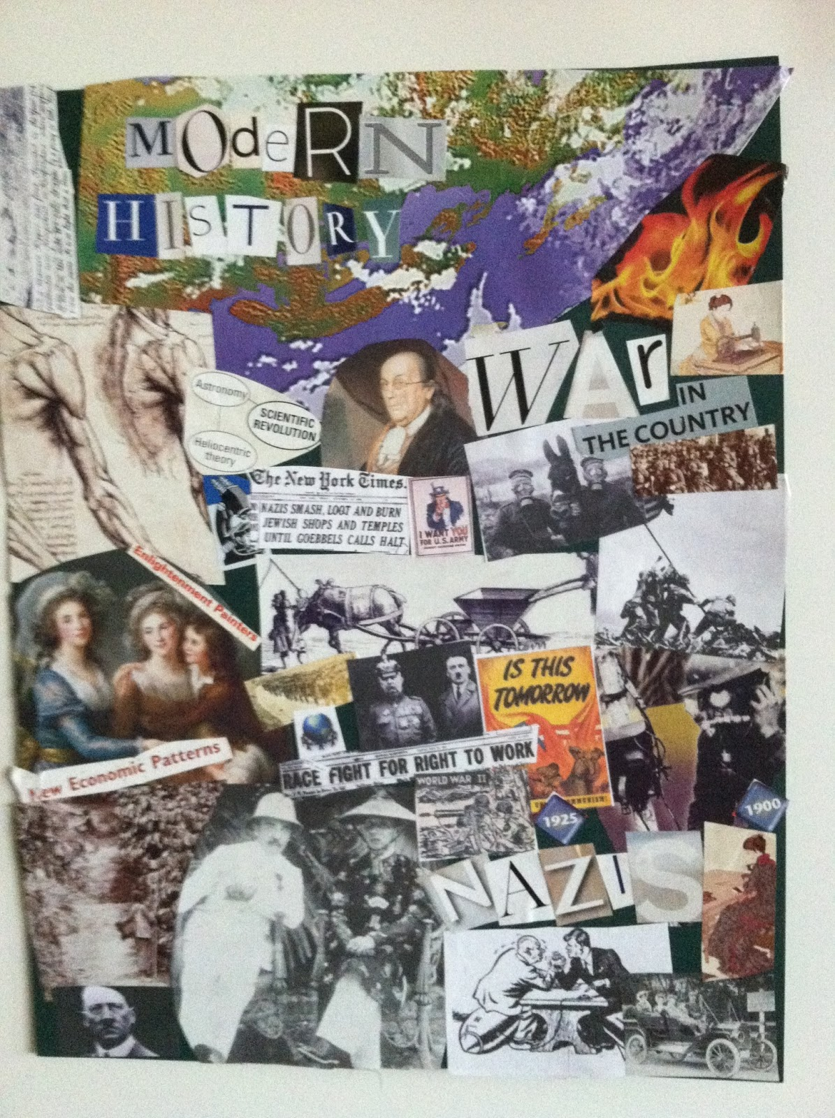 Image result for modern history collage