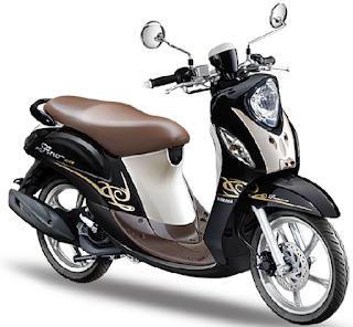 Harga baru Yamaha Fino 125 type premium