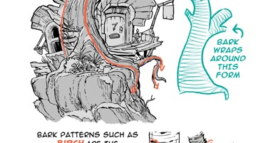 The Etherington Brothers How To Think When You Draw Tree Bark