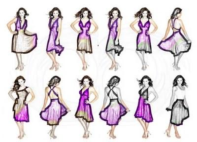 Como hacer y ponerse Vestidos Multiusos Patrones