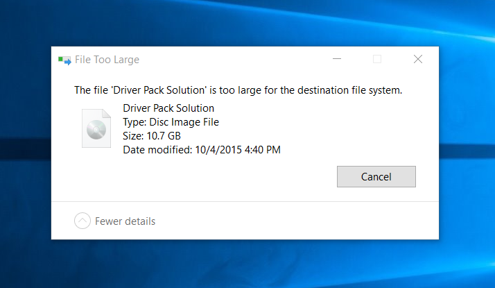 حل-مشكلة-file-is-too-large-for-the-destination-file-system