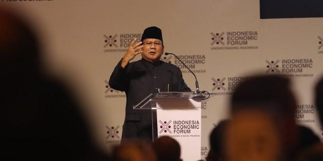 Prabowo: Laki-Laki Minum Kopi, Gue Kalau Jadi Iklan Kopi Laku Kali Ya