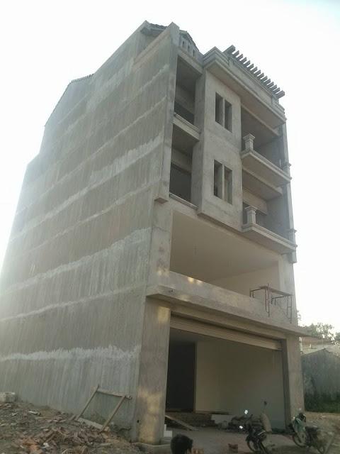 Nhà bê tông Tường phẳng - Sàn phẳng