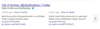 Google Extended Search: Twitter Cards