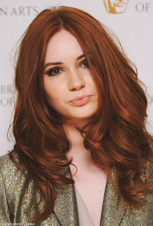 lighter auburn hair