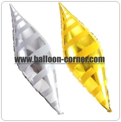 Balon Foil Lancip