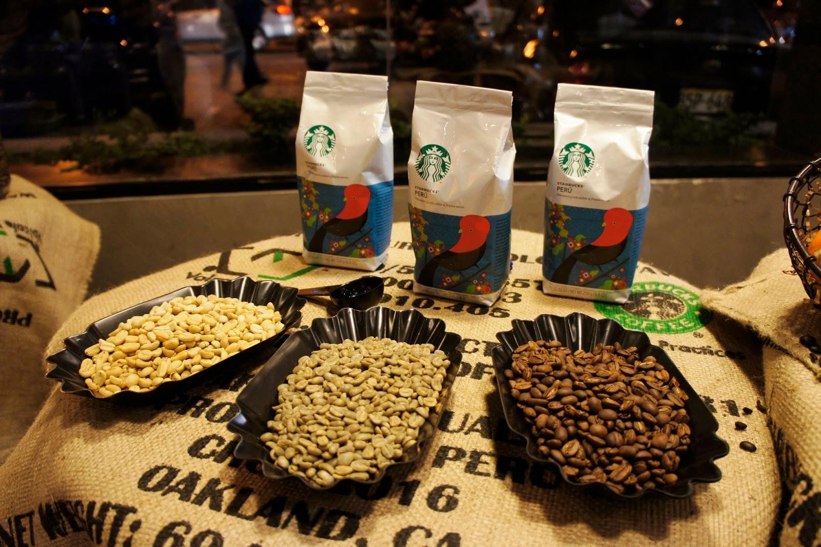 Café Peruano, Perú, Starbucks