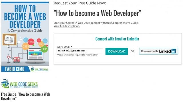 Ebook: Bagaimana Caranya Menjadi Web Developer