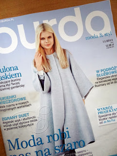 Burda listopad 2013, Burda 11/2013 - co w numerze?