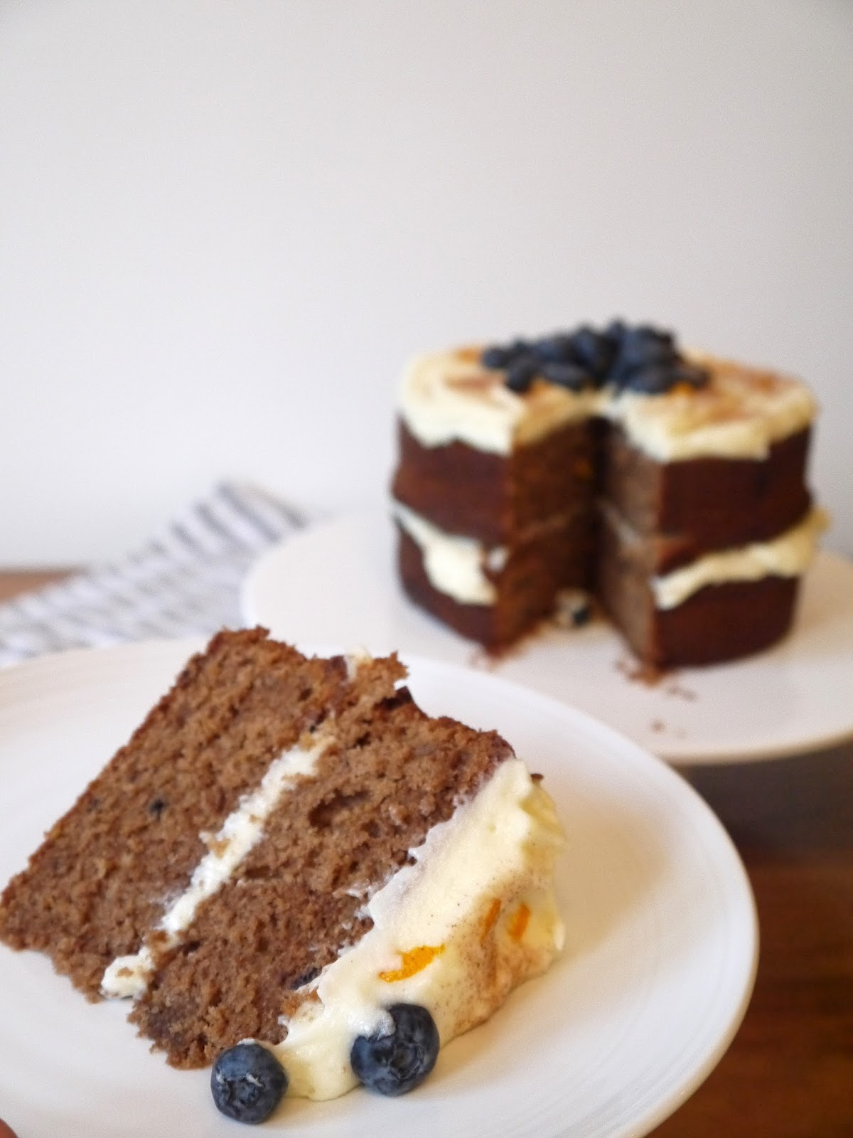 Chocolate Orange and Blueberry Cake The Betty Stamp Recipe