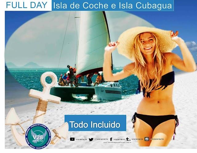 Isla de Margarita semana santa Full day isla de coche