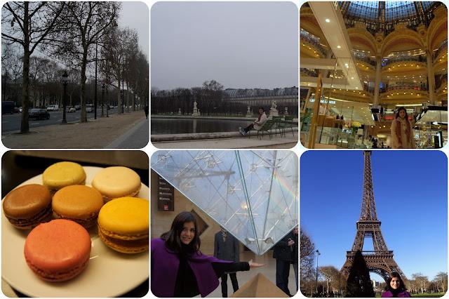 Paris / França / Torre Eiffel / Catedral de Notre-Dame de Paris / Champs-Élyséees / Galeria Lafayette / Museu do Louvre
