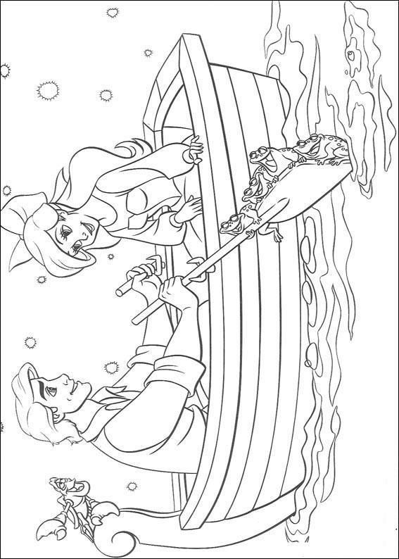 The Little Mermaid Drawings Coloring