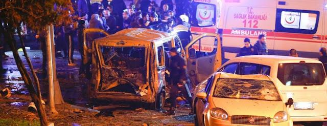 تفجيران في أسطنبول يوقع 13 قتيلا و 20 مصاب