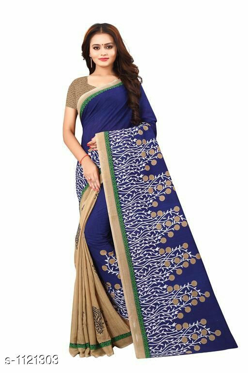 Attractive Kadi Cotton Saree