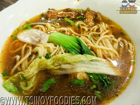 braised beef tendon noodle soup