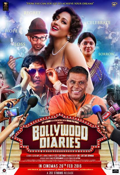 Poster Of Bollywood Diaries 2016 720p Hindi DVDRip Full Movie Download