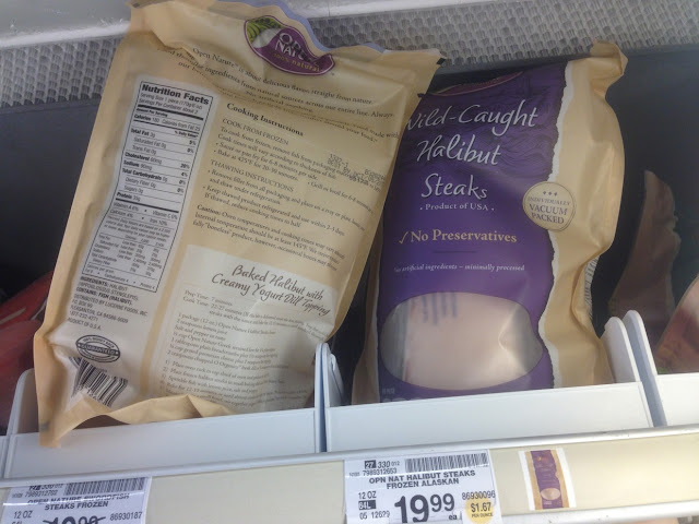 Halibut Steaks, Open Nature - Safeway