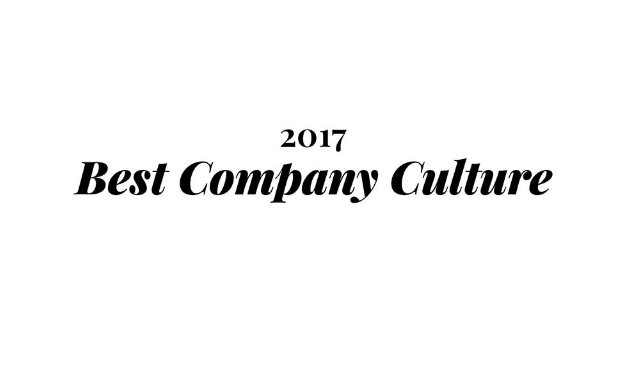 2017 Best Company Culture