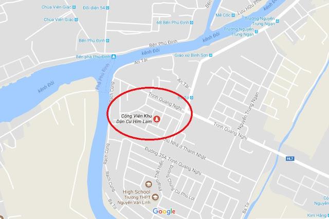 Bán nhà Khu dân cư Him Lam phường 7 Quận 8, DT 5x20m