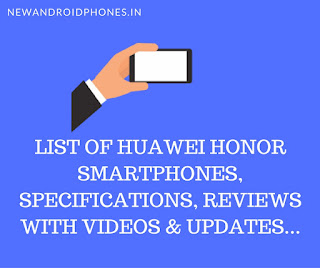 honor mobile price and specification