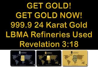 Revelation 3:18 - Get GOLD!