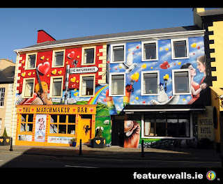 MATCHMAKER BAR/IMPERIAL HOTEL HAND PAINTED BY FEATUREWALLS.IE