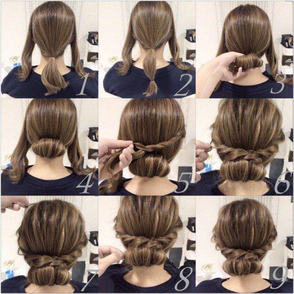Diferentes versiones peinados casual Galería De Tutoriales De Color De Pelo - Peinados de FIESTA Faciles Paso a Paso que están de MODA ...