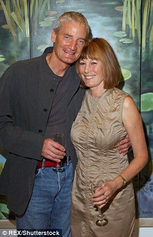 Billionaire James Dyson and his wife, Deirdre, at a recent party.