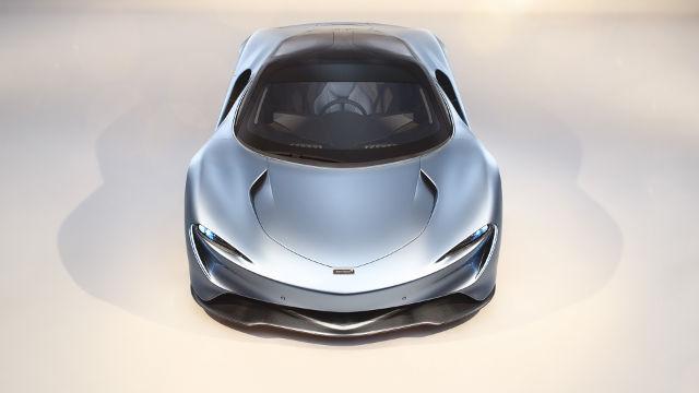 McLaren Speedtail Hyper GT Face - Fond d'écran en Ultra HD 4K