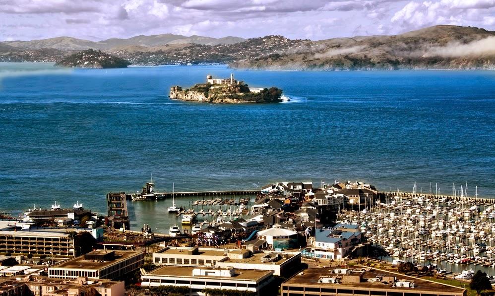 Pier 39 em San Francisco Alcatraz