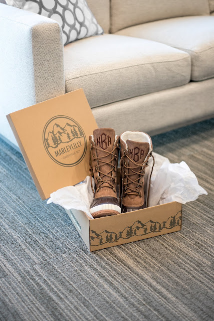 winter duck boots in marleylilly box