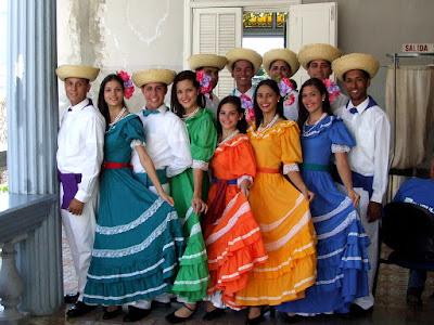 Typowy strój z Portoryko