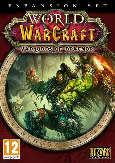 Warlord of Draenor Collectors Edition Cover Art