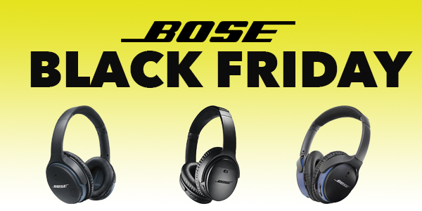 Bose Black Friday deals offer up to 50% off headphones and speakers