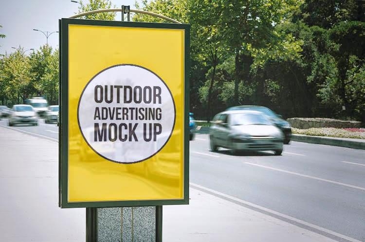 Billboard Outdoor Advertising Mock-Ups