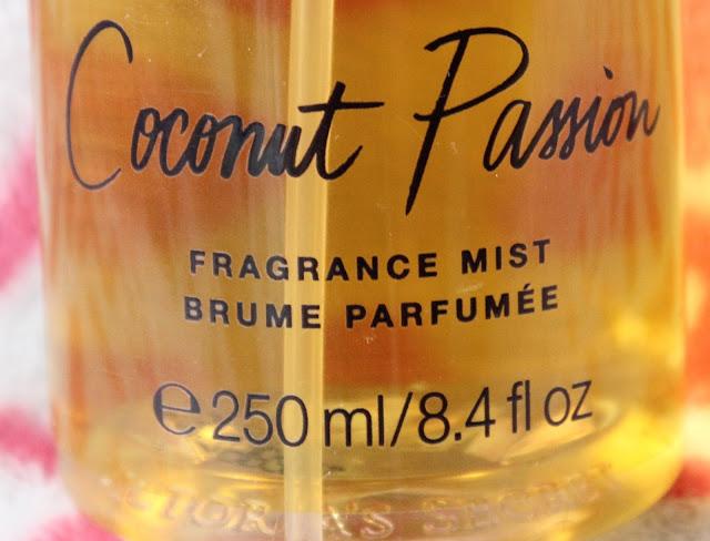 IMG 3692 - Victoria's Secret Coconut Passion Fragrance Mist